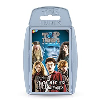Amazon.com: Top Trumps Harry Potter Witches & Wizards: Toys ...