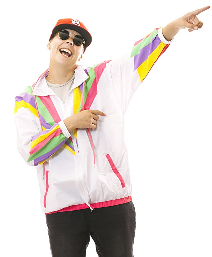 1900s, 1910s, WW1, Titanic Costumes Funny Guy Mugs Rad 80s & 90s Retro Neon Windbreaker $49.99 AT vintagedancer.com