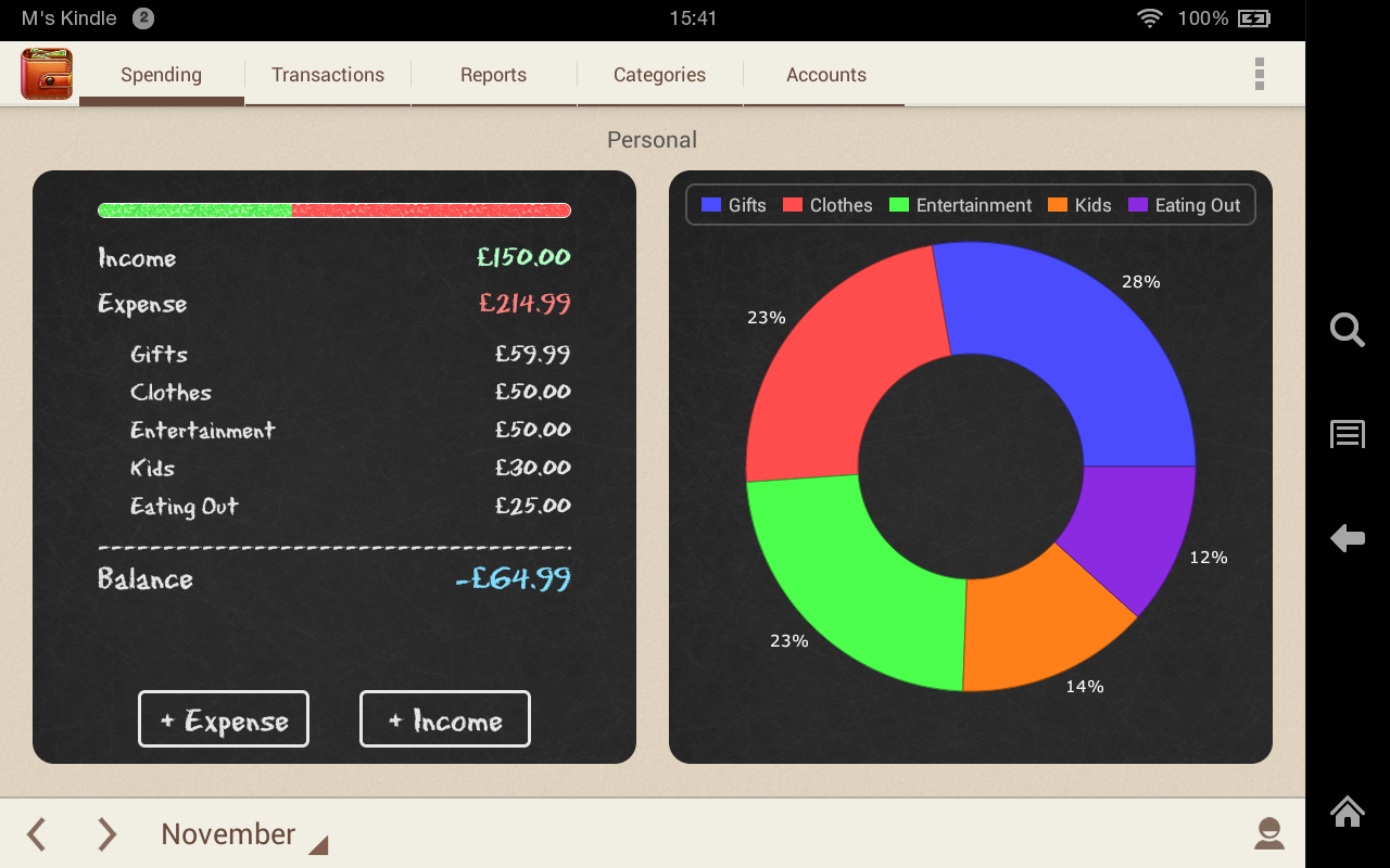 Amazon.com: Spending Tracker: Appstore for Android