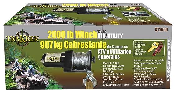 Keeper Corporation KT3000 Trakker 1.475-horsepower Electric Winch - on