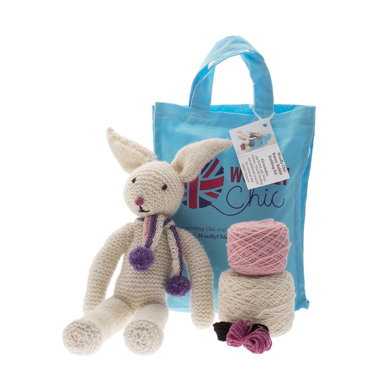 Bunny Rabbit Knitting Kit Woolly Chic