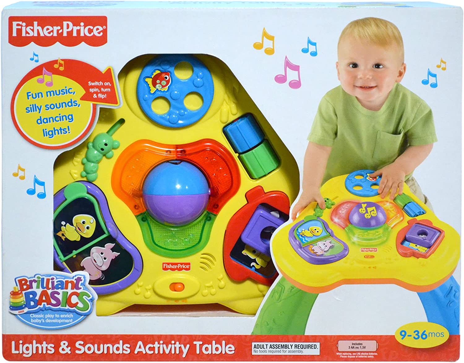 Mattel R7871-0 Fisher-Price - Mesa musical de actividades: Amazon ...