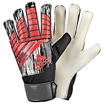adidas Predator 18 Young Pro Gants Gardien de But Garçon, Solar Red/Black,