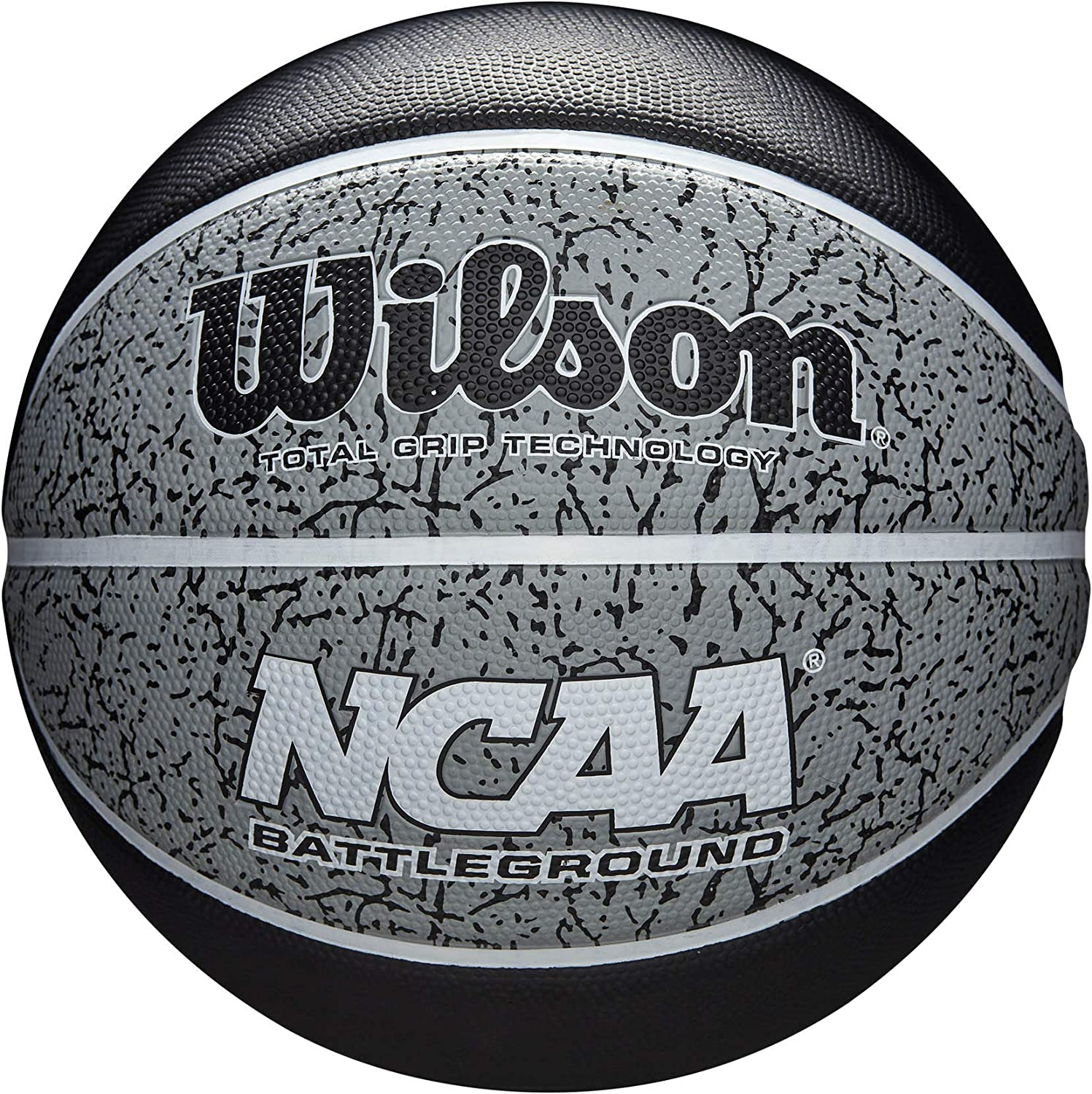 Wilson WTB2501XB07 Pelota de Baloncesto NCAA Battleground Caucho ...
