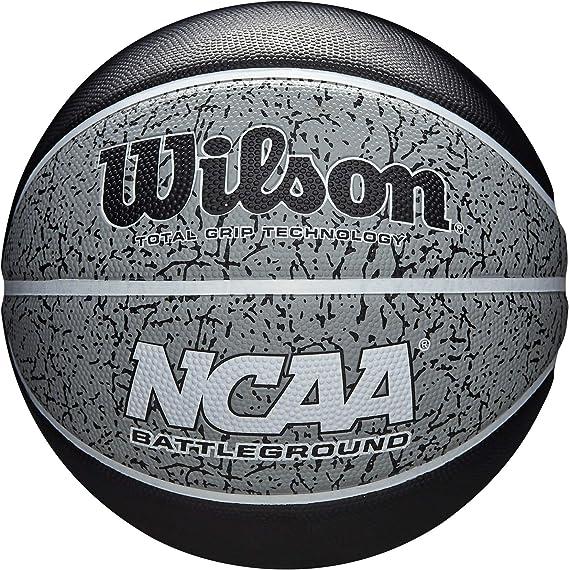 Wilson WTB2501XB07 Pelota de Baloncesto NCAA Battleground Caucho ...