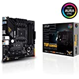 ASUS TUF Gaming B550M-PLUS AMD AM4 (3rd Gen Ryzen Micro ATX Gaming Motherboard (PCIe 4.0, 2.5Gb LAN, BIOS Flashback, HDMI 2.1, USB 3.2 Gen 2, Addressable Gen 2 RGB Header and Aura Sync)