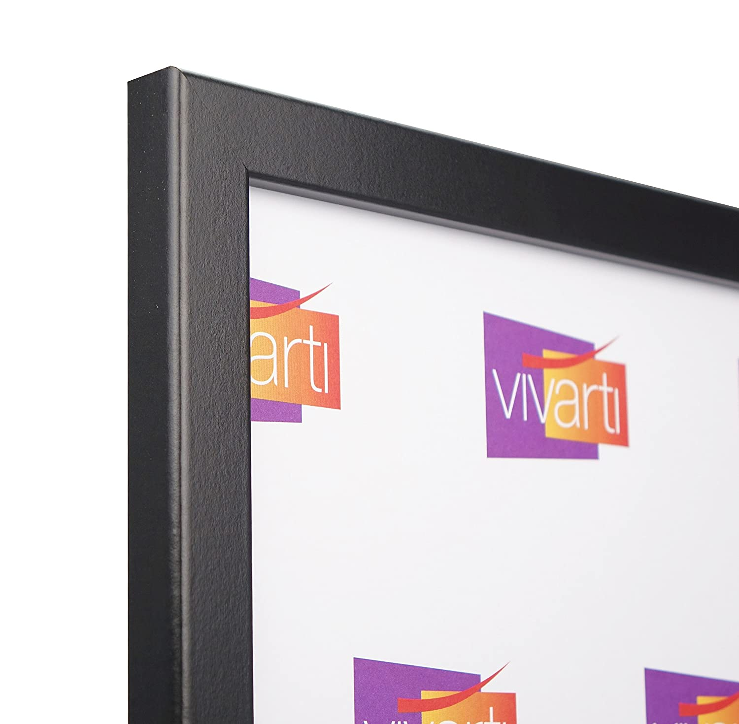 Thin Matt Black Ready Made Picture Frame, A2 Size, 59.4 x 42 cm ...