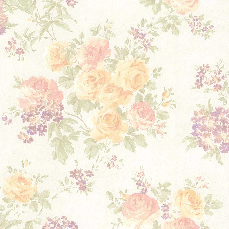 Mirage 989 64842 Ivana Pastel Floral Trail Wallpaper Amazon Com
