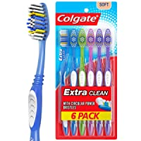 Deals on 6-Count Colgate Extra Clean Toothbrush Full Head Soft