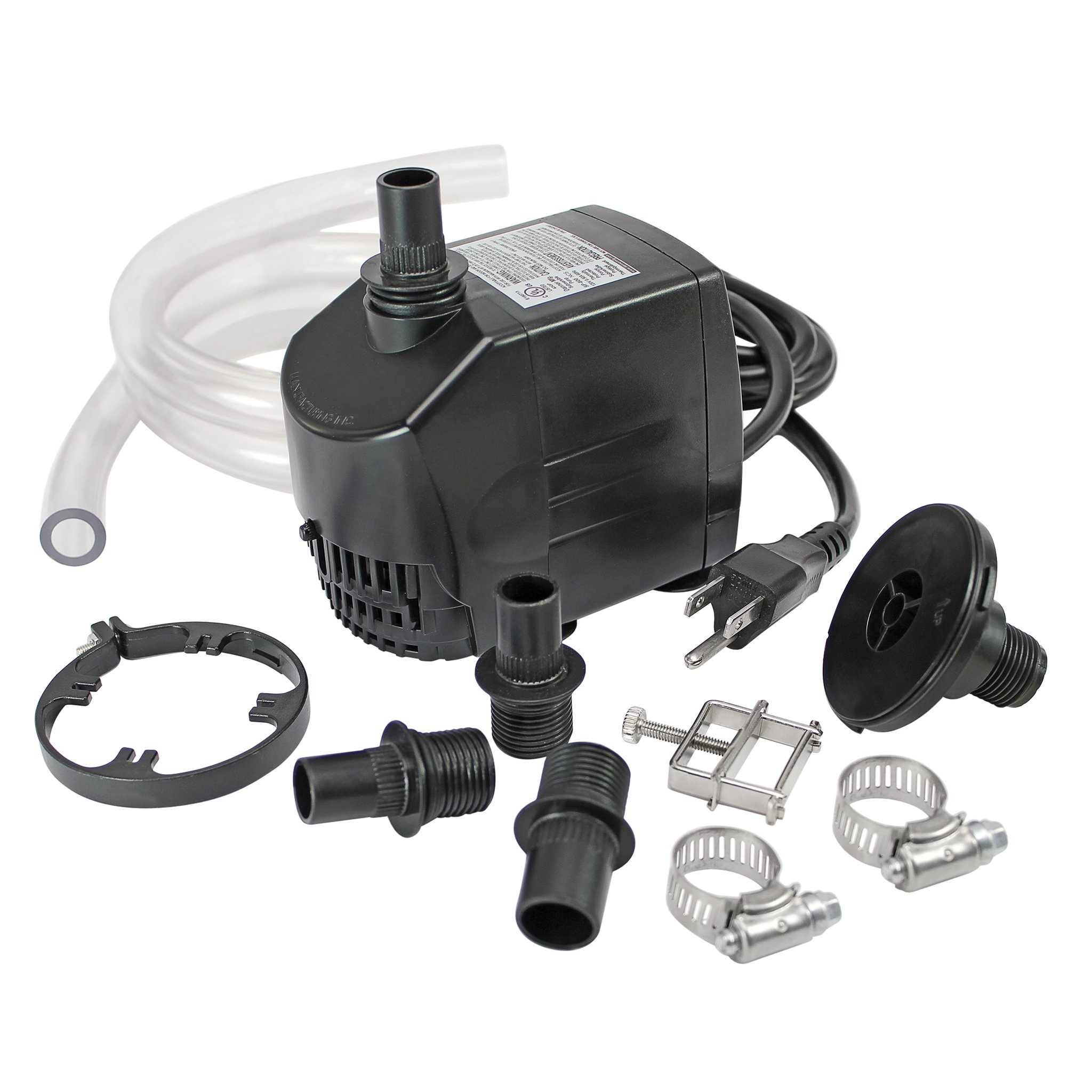Design Toscano UL-listed, indoor/outdoor, 725 GPH Pump Kit