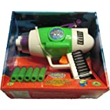 Disney Parks Toy Story Buzz Lightyear's Toy Foam Nerf Gun Blaster w/ Lights & Sounds - cool gift idea for kids (1-3 days shipping)