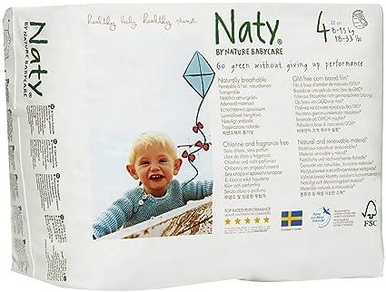 Eco By Naty - Pantalones y tiradores (talla 4, 8 unidades)