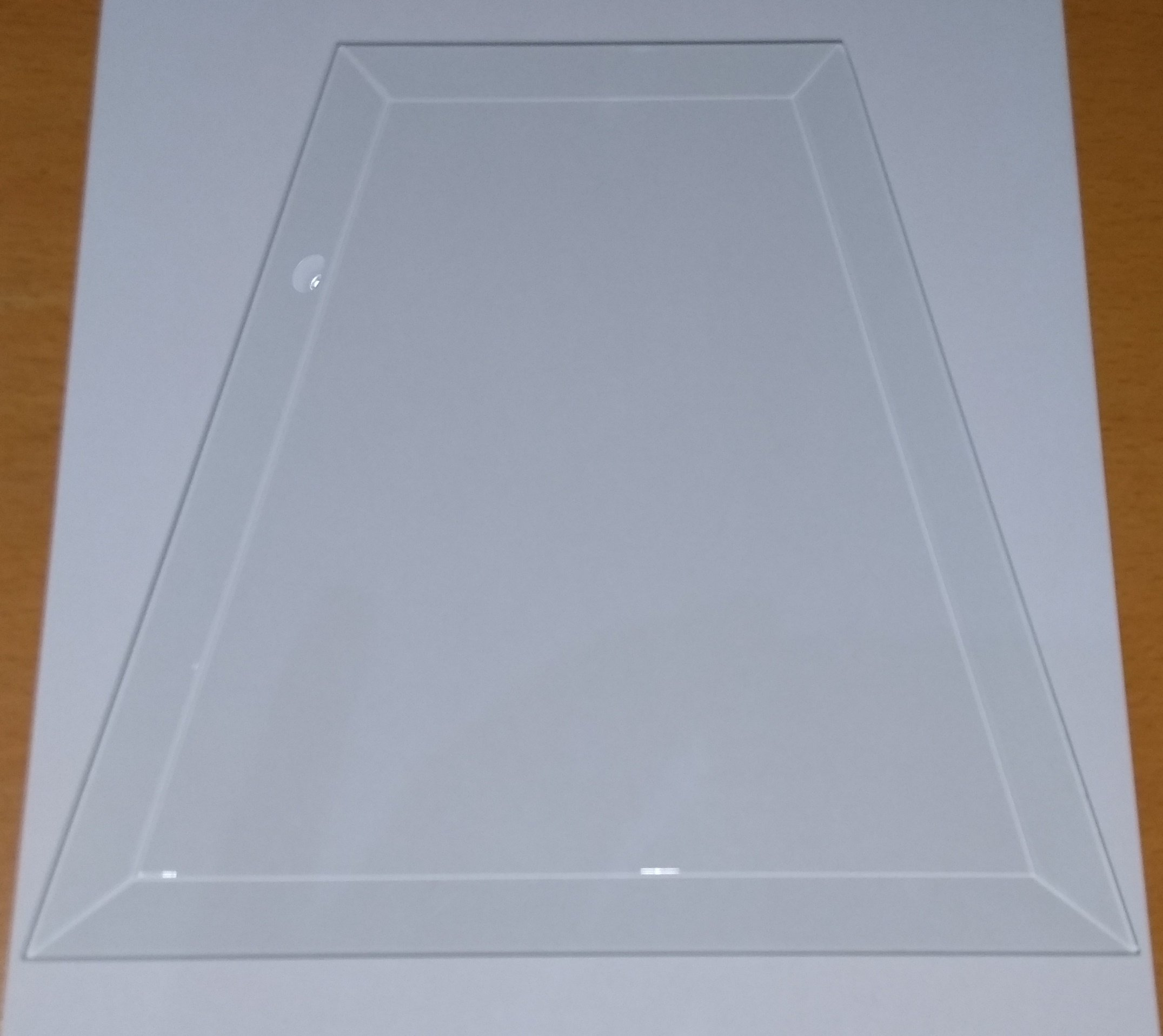 Tempered Bevelled Glass Panes for Outdoor Gaslights FBG300-1 Pane