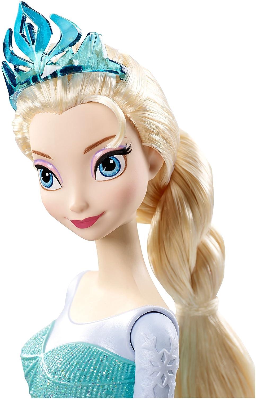 Disney Frozen Sparkle Princess Elsa and Olaf Doll Gift Set