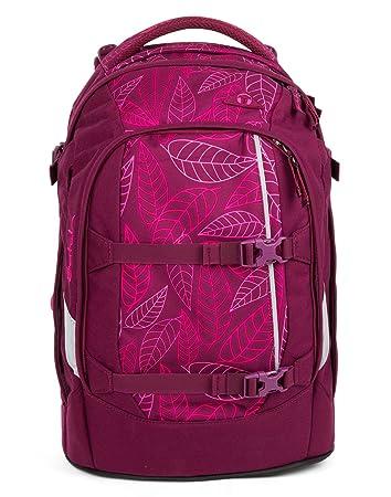1fc67a0acfa84 Satch Pack - 3tlg. Set Schulrucksack - Purple Leaves  Amazon.de ...