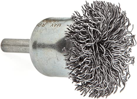 1-Inch Forney 60002 End Brush Coarse Twist Knotted with 1//4-Inch Shank