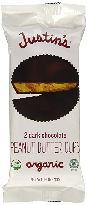 Image result for justin's dark chocolate peanut butter cups