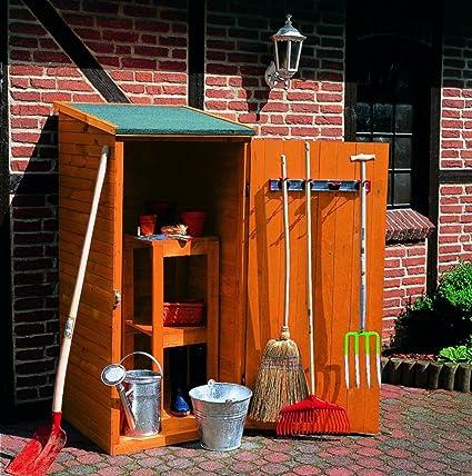 Madera-gabinete de equipos pequeños caseta de cobertizo armario