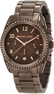 Michael Kors Womens MK5493 Blair Bronze Tone Stainless Steel Watch