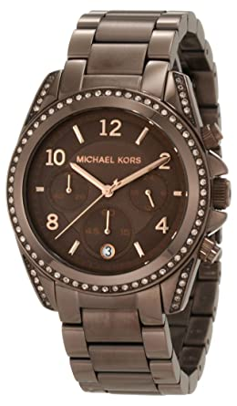 a8f7c373d08f Image Unavailable. Image not available for. Color  Michael Kors Women s  MK5493 Blair Bronze Tone Stainless Steel Watch