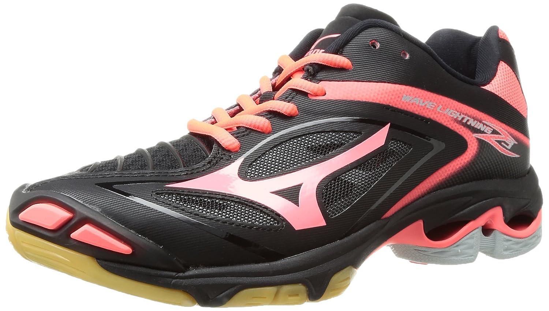 Mizuno Women's Wave Lightning Z3 Volleyball Shoe B01N90GUGW 11.5 B(M) US|Black/Fiery Coral