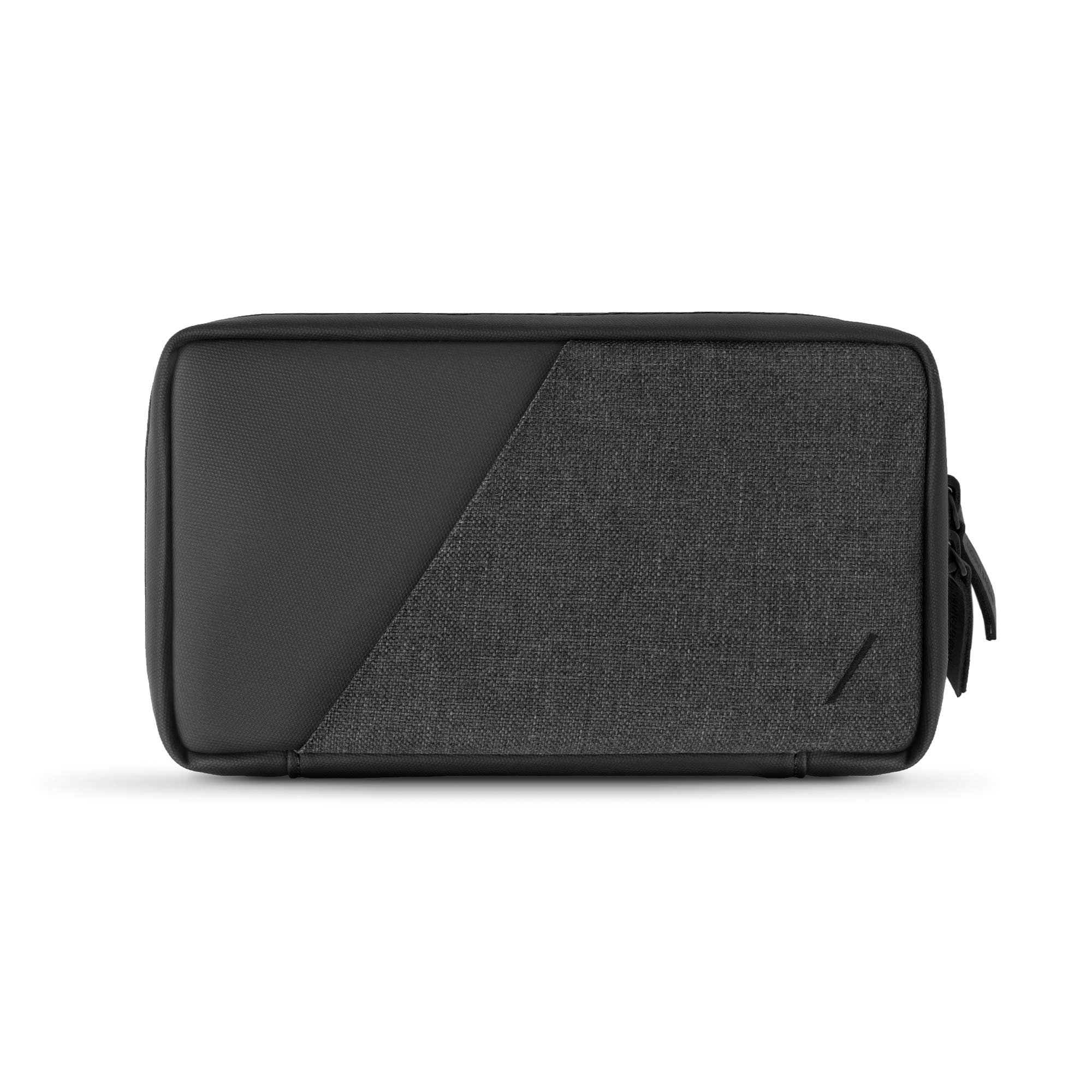 Native Union Stow Organizer - Lightweight Travel Pouch Crafted with Durable Canvas (Slate)