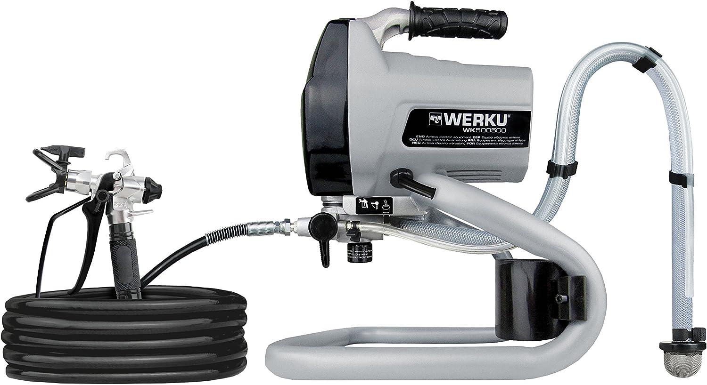 Werku WK500500 Equipo Eléctrico Airless: Amazon.es: Bricolaje y ...