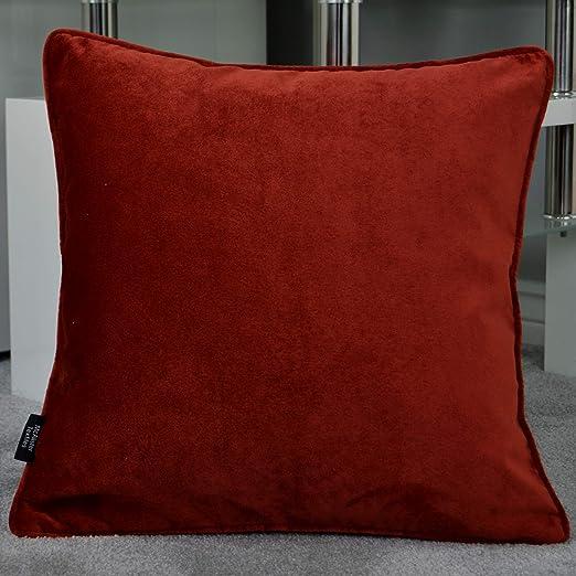 Designer Luxe samtkissen 40 x 40 CM zierkissen référence Taie d/'oreiller de velours