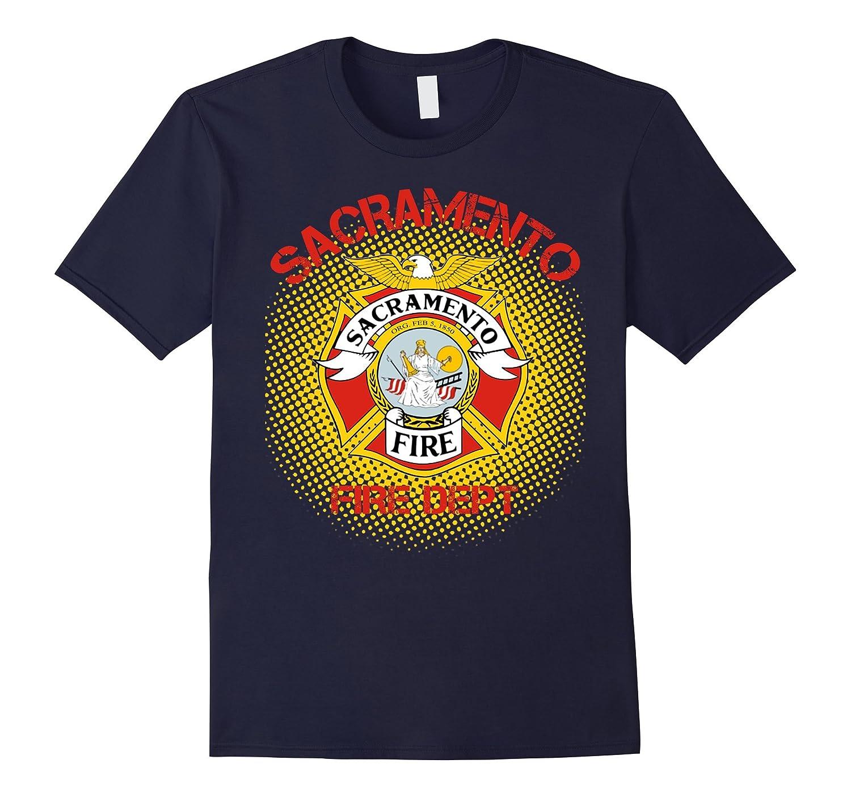 Sacramento Fire Department T Shirt Anz Anztshirt