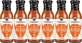 product image for Case of 6 - Tessemae's All Natural Marinade, Dressing & Sauce (Buffalo, Mild)