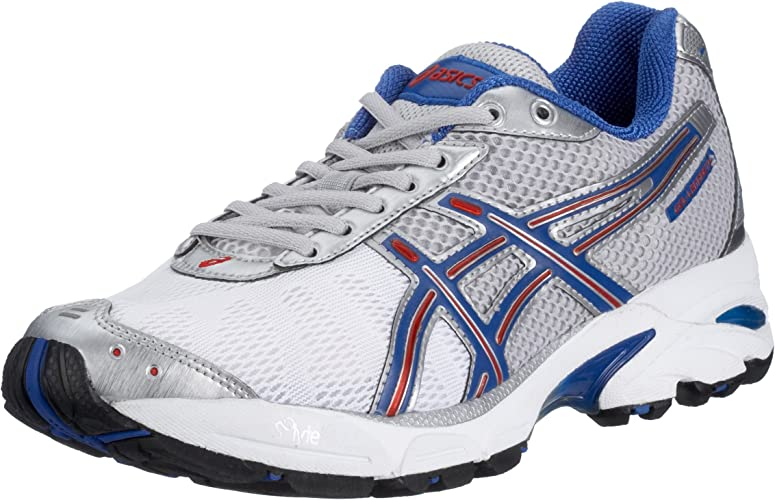 Asics Gel País Reth 3 TN710 – 9359 – Zapatillas de Running para Hombre, Gris (Quick Silver/Red 9359), Color Gris, Talla 44.5 EU: Amazon.es: Zapatos y complementos