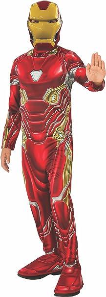 Avengers - Disfraz oficial de Iron Man para niños, Infinity War ...