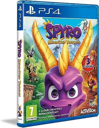 Spyro Reignited Trilogy [importación Italiana]: Amazon.es ...
