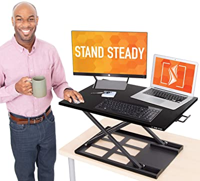 Stand Steady Standing Desk X-Elite Standing Desk