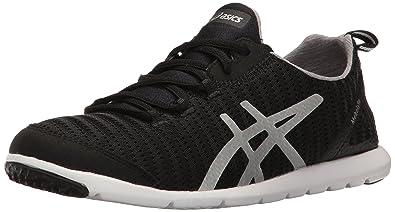 ASICS Women's Metrolyte-W Walking Shoe, Black/Aluminum/Silver, ...