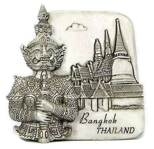 Imanes de nevera recuerdos Tailandia gran Palacio hecho a mano ...