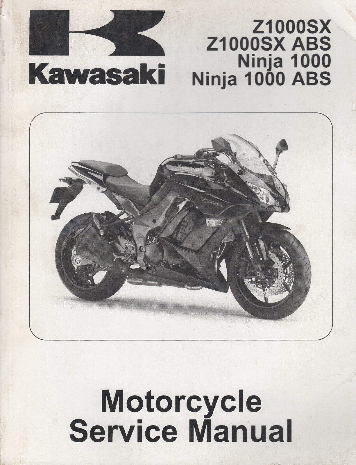 2011 KAWASAKI MOTORCYCLE NINJA ZX-10R SERVICE MANUAL P/N ...