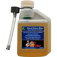Hydra Diesel Inyector de alimentación Blast Cleaner aditivo combustible 250ml Treats up to 375L