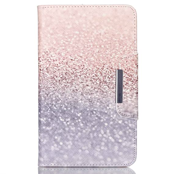 sports shoes 8fc26 747c2 Samsung Galaxy Tab 4 7.0 Case,UZZO Silver Glitter Beach Sand Design Pu  Leather Flip Case Cover Skin With Stand For Samsung Galaxy Tab 4 7 Inch  T230 ...