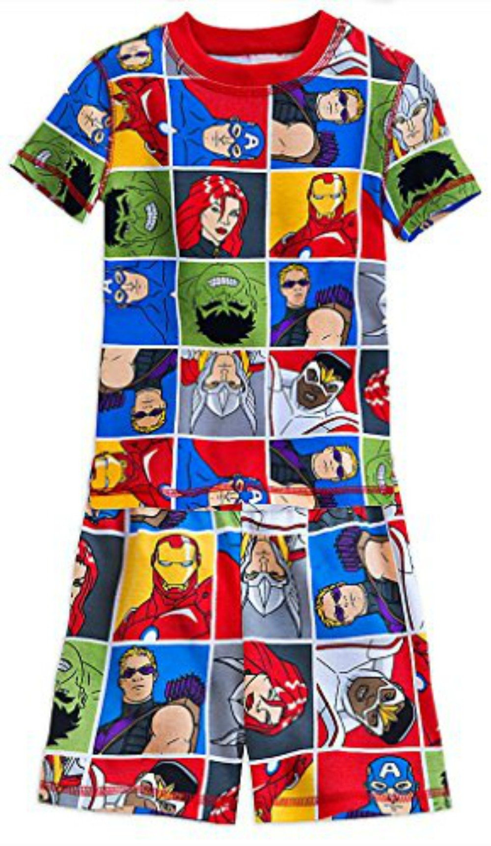 Disney Marvel's Avengers PJ PALS Pajama Short Set for Boys (2) by Marvel (Image #1)