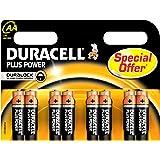 Duracell DURALOCK MN1500 - Batterie stilo AA/LR6, pack de 8