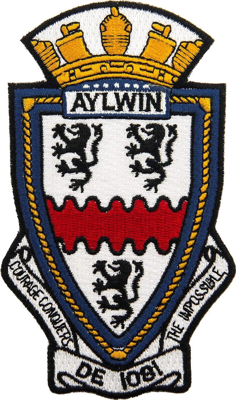 USS Aylwin DE-1081 Patch Full Color