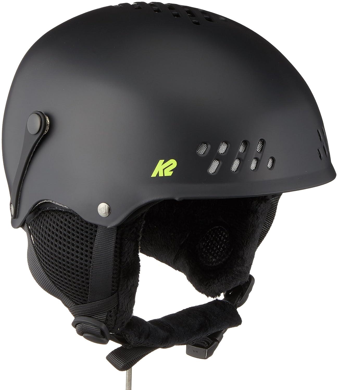 K2 Ski Kinder Helm Entity Schwarz Matt 10A4003.2.1 Snowboard Snowboardhelm Kopfschutz Protektor