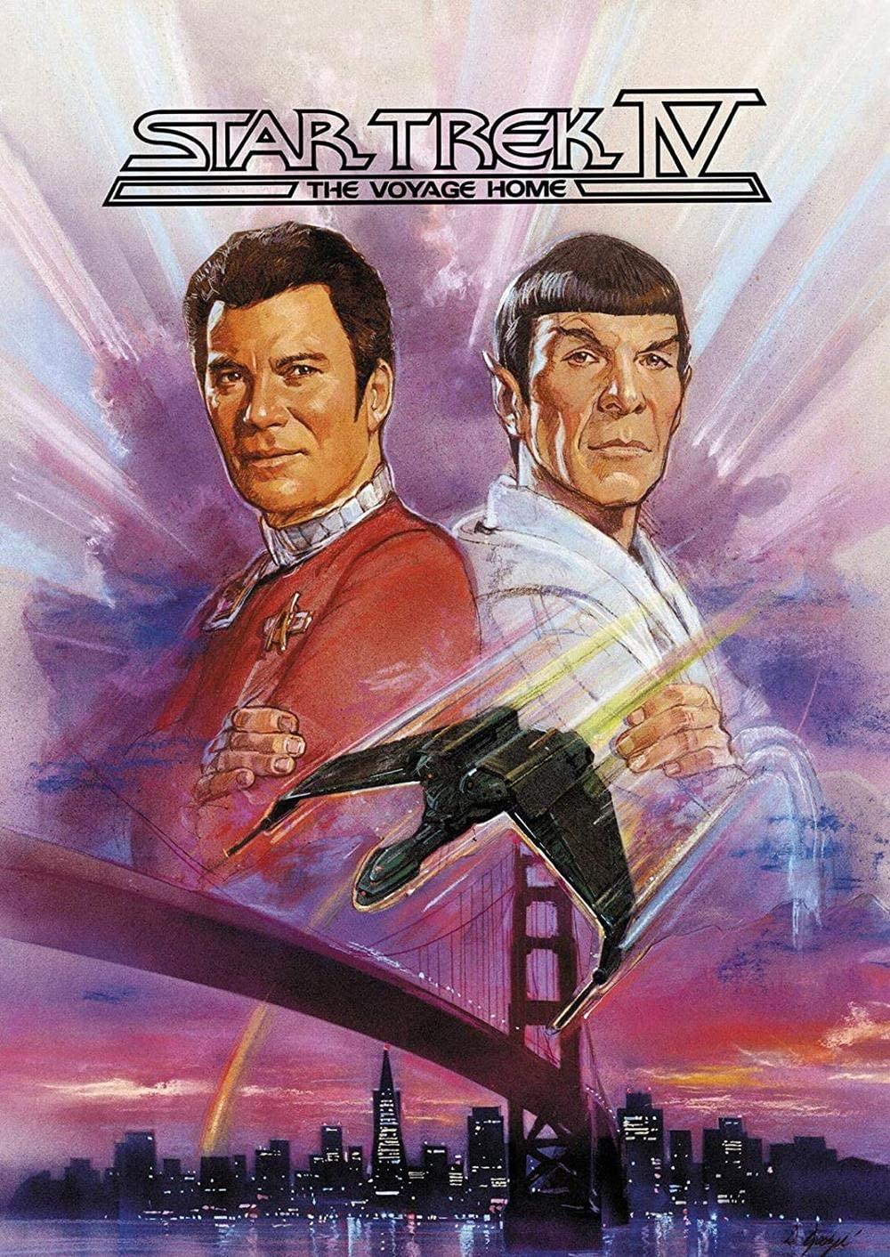 WisdomCourage Star #Trek Iv The Voyage Home Movie Poster William Shatner Spock Print Wall Decor Art Gifts Lovers Poster