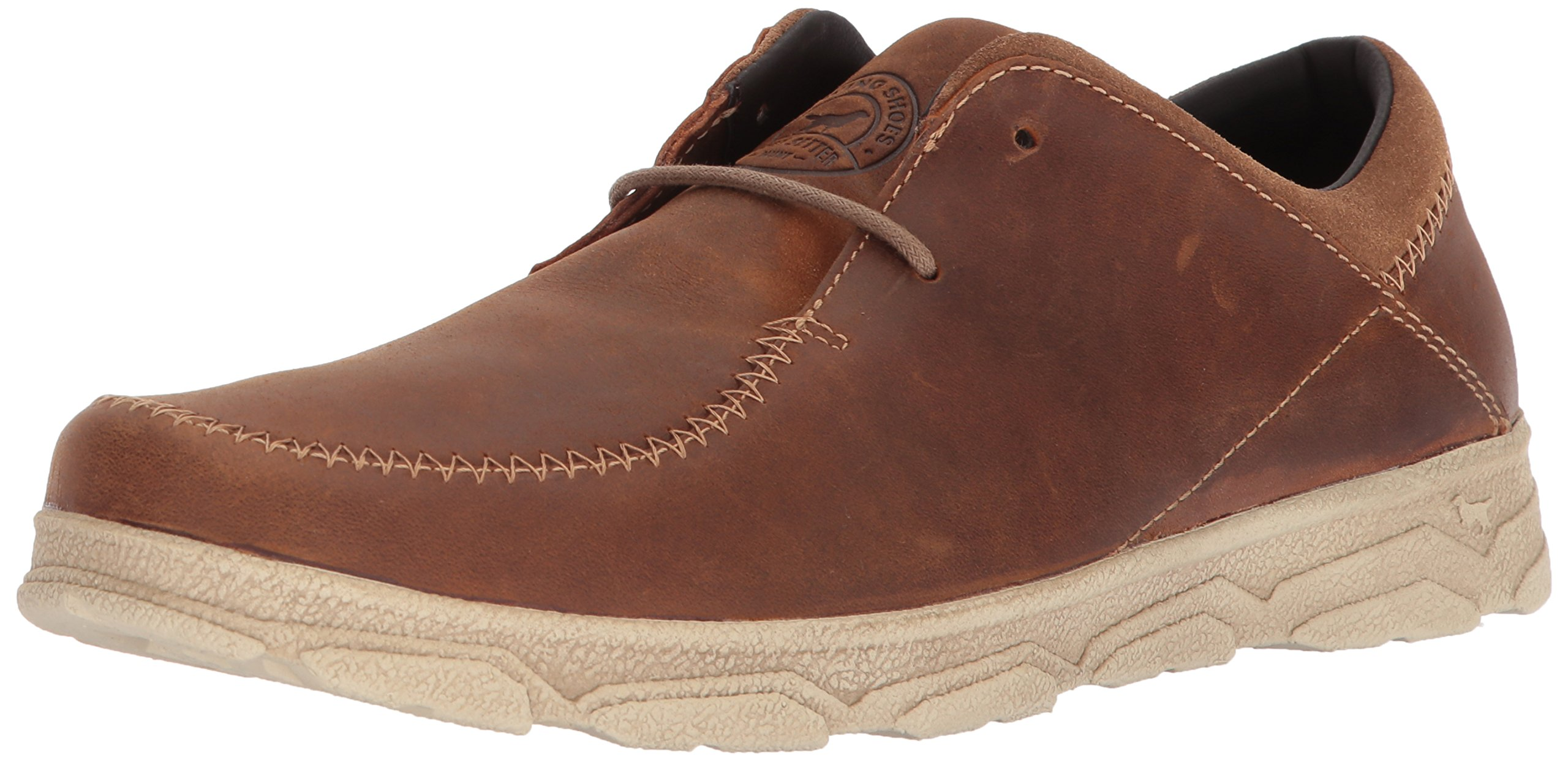Irish Setter Men's Traveler 3804 Oxford Boot, Tan, 13 D US by Irish Setter