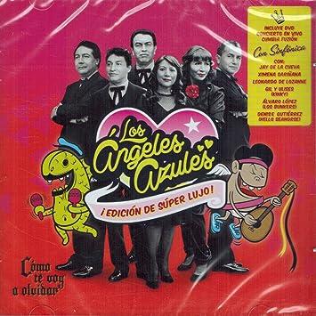 Los Angeles Azules Los Angeles Azules Como Te Voy A Olvidar Edicion De Lujo Cd Dvd Sony 417120 Amazon Com Music