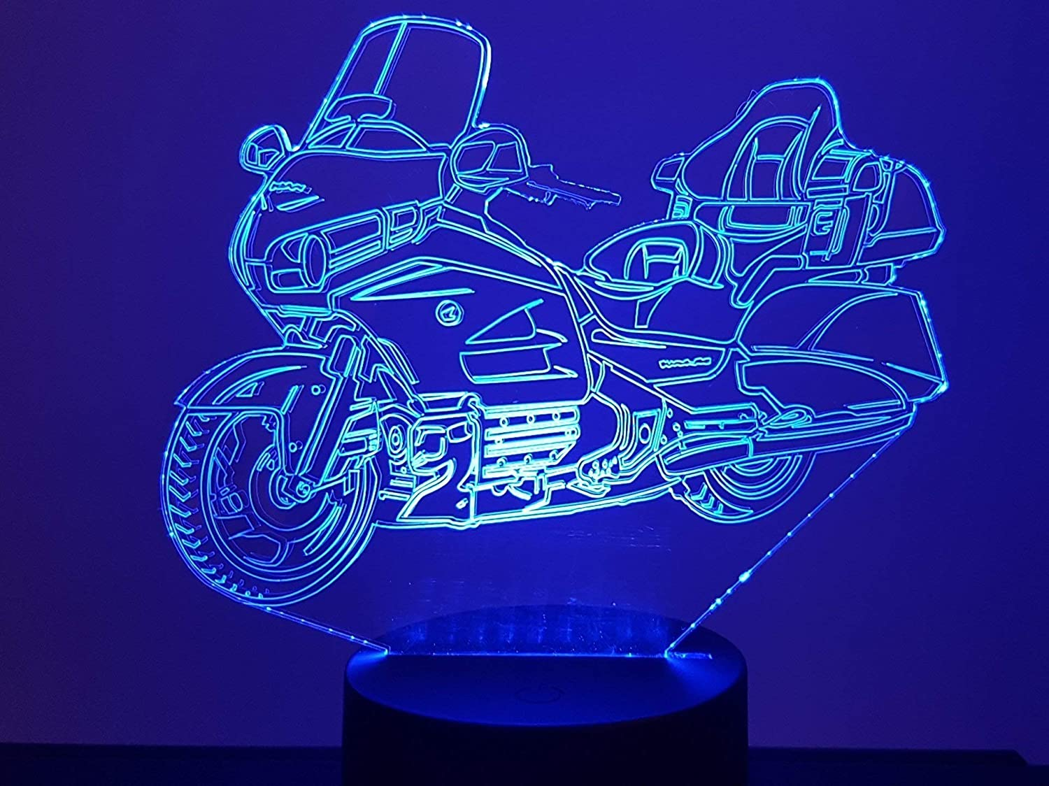 Lampe 3D Motif: Moto Goldwing