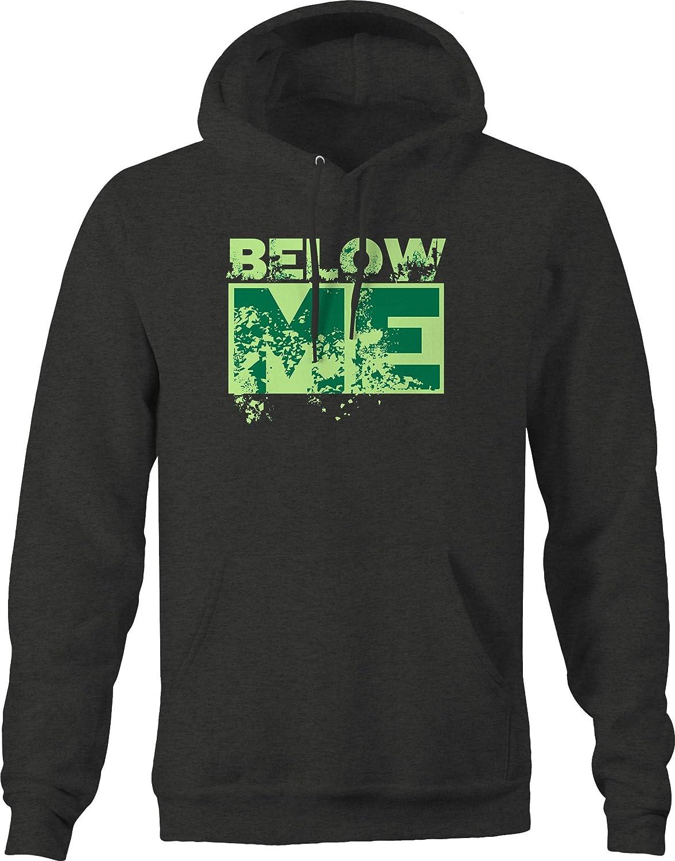 M22 Below Me Distressed Funny Sweatshirt