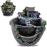 BESTOYARD Plants Pot Creative Plants Pot Mini Fairy Garden and Sweet House for Decoration