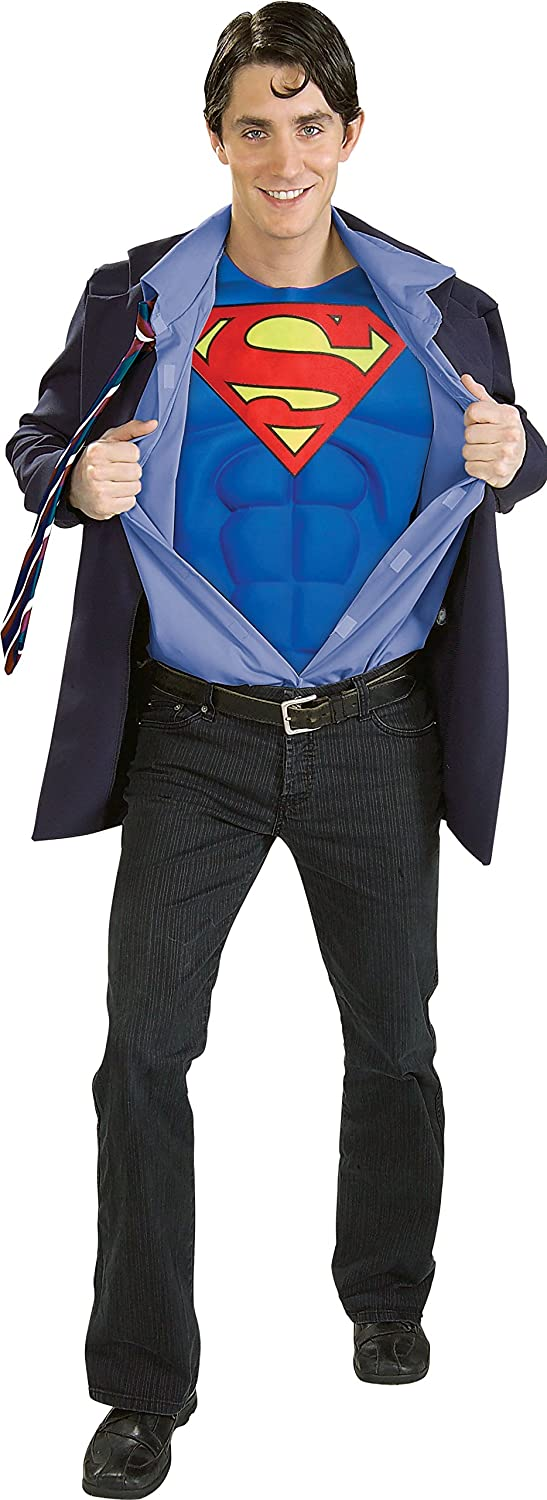sc 1 st  Amazon.com & Amazon.com: Superman Returns Clark Kent/Superman Costume: Clothing
